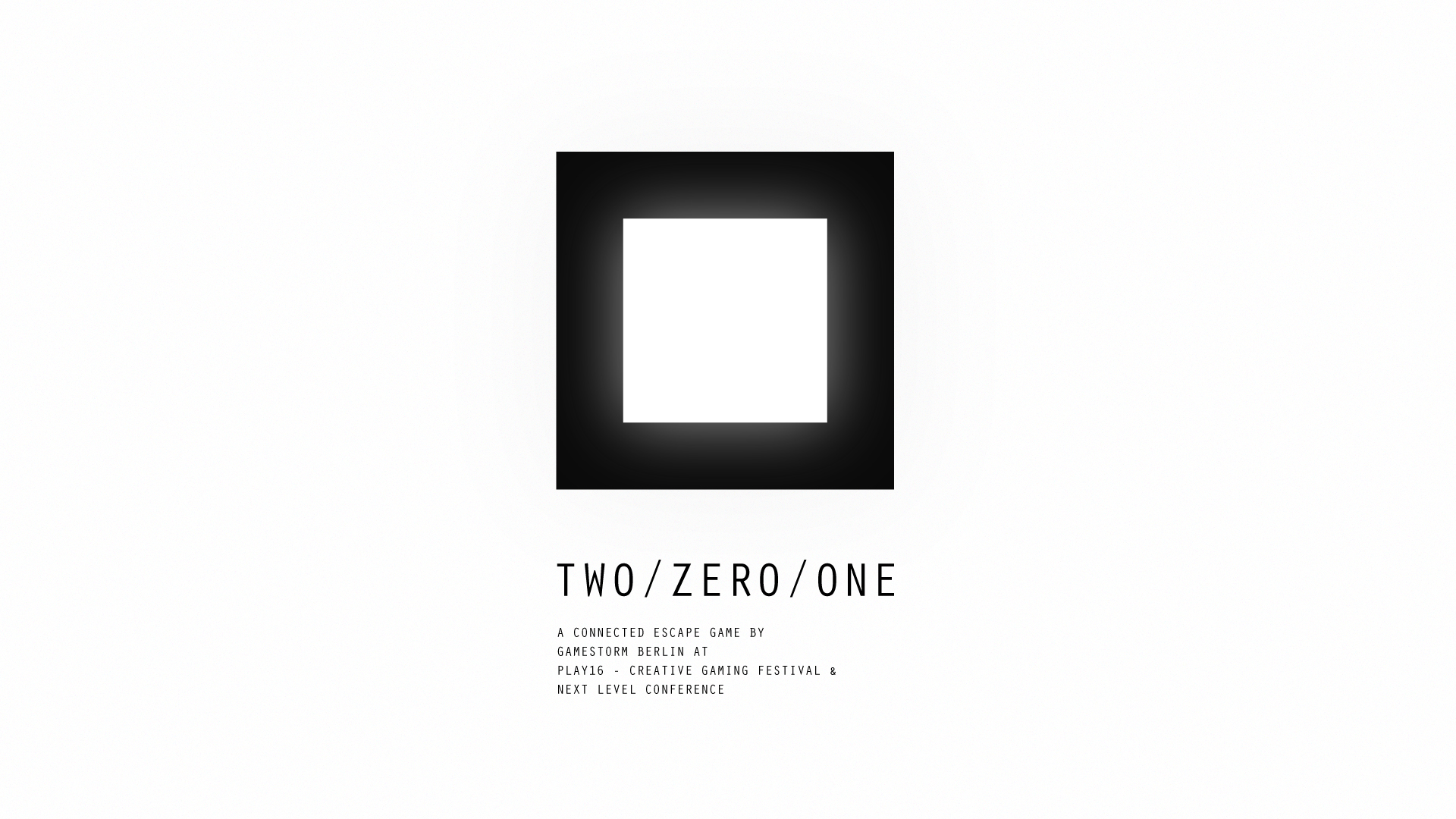 TWO / ZERO / ONE - A connected escape game